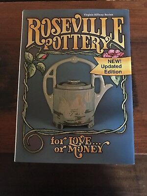 ***Roseville Pottery for Love or Money book by Virginia Buxton-1996-Free Ship