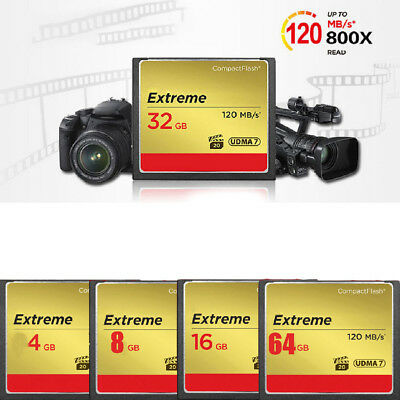 8G 8GB Ultimate Compact 120MB/s Genuine Flash Memory CF Card For Camera