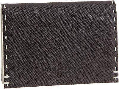 KATHARINE HAMNETT LONDON business card holder color tailored 490-5190 black F/S