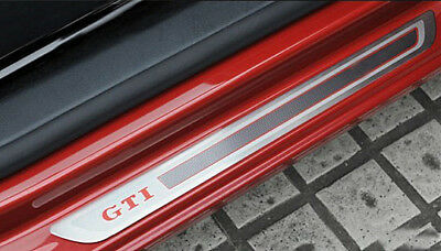 Door sill scuff plate Guards Sills FOR VW GOLF 6 7 GTI 5door 2009-2018