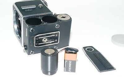 Hasselblad 500EL,500EL/M and 500ELX  9V battery adapter and 35mm to 120 adapter