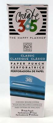 The Happy Planner Classic Paper Punch 9 Hole Punch for Disc Bound System NEW