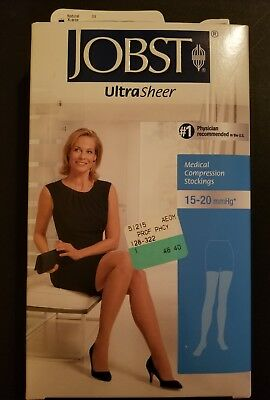 Jobst Ultra Sheer Compression Stockings Thigh, Size XLarge