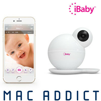 iBaby M6S Baby Monitor w/ HD Video 2-Way Audio & Air Quality Sensor