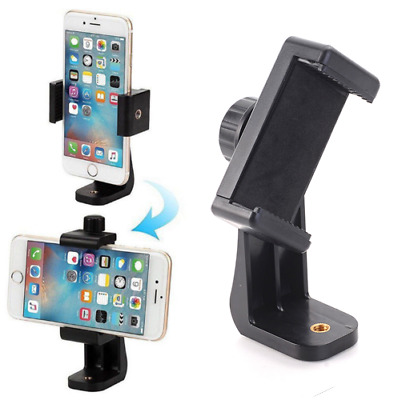 Universal Cell Phone Tripod Adapter Holder Smartphone Mount For Samsung iPhone