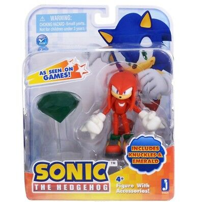 "Sonic ""Knuckles with Master Emerald"" Figure New Rare"