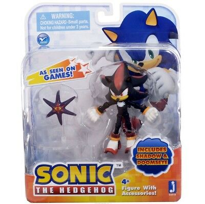 "Jazwares Sonic ""Shadow with Doom's Eye"" Figure New Rare"