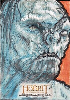 The Hobbit The Desolution Of Smaug, Sketch Card
