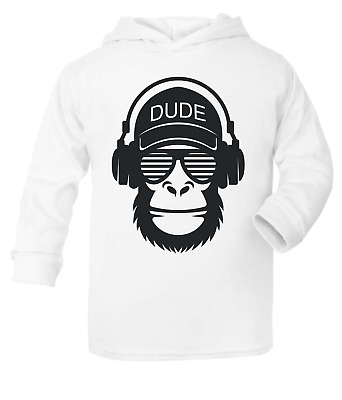 Dude Kids Hooded Top Hoodie Girls Clothes Tops Fashion Boys Tops Cute