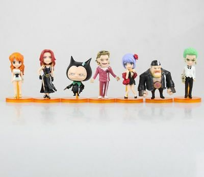 7pcs/set Anime One Piece FILM GOLD Vol.2 WCF World Collectable Figure New No Box