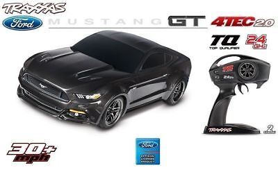 Traxxas 4-TEC 2.0 Ford Mustang GT 1:10 4WD RTR On-Road Cars TQ 2.4GHz TRX83044-4