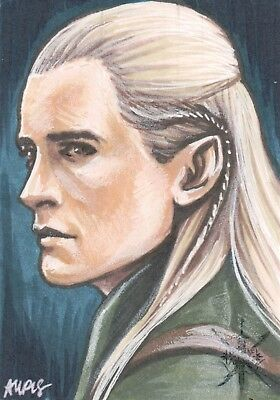 The Hobbit The Battle of Five Armies, Sketch Card
