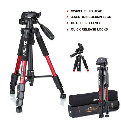 Zomei Q111 Red Professional Tripod Panhead For Canon Nikon Sony DSLR Camera