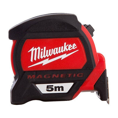 Milwaukee 4932459373 5m Premium Measuring Tape with Dual Magnetic Hook