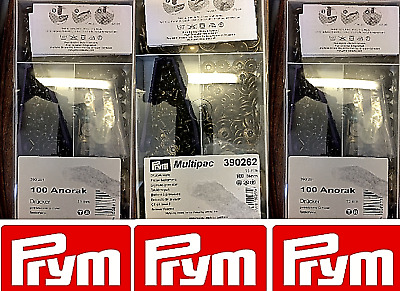Prym Anorak Non-sew Press Stud Fasteners 15 mm 100 pieces