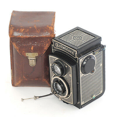 Rolleicord 1 Model 1 Art-Deco with Carl Zeiss Triotar 75mm f4.5 lens (4514G)