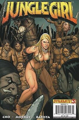 Jungle Girl #3A 2007 Dynamite Entertainment.  VF
