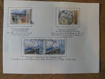 GB Stamps 1971 Ulster Paintings (Partition of Ireland-50th Anniversary) Used Set