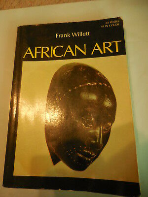 African Art Frank Willet Book 261 pate 61 in color