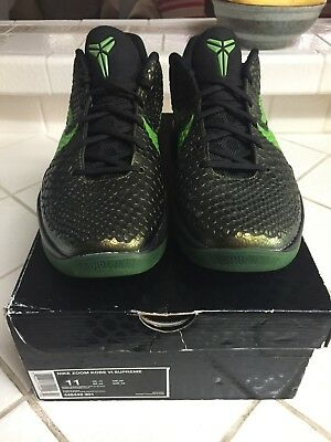 dc8f2fb39e05 100% AUTHENTIC NIKE Zoom Kobe 6 VI size 11 Rice 3D Prelude Grinch 4 ...