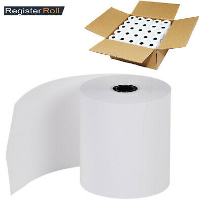 50PK THERMAL PAPER 3.125 X 2.75 X 230FT FOR RECEIPT PRNT BPA Free Made in USA