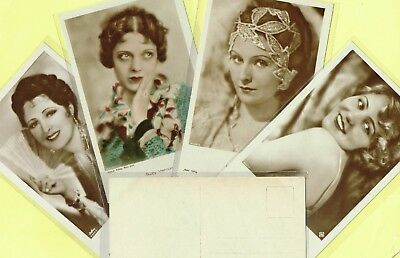 ROSS VERLAG - 1930s Film Star Postcards produced in Germany #4491 to #4565