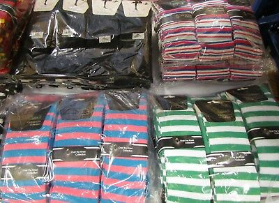 16 Dozen (192 pairs)  QUALITY long socks. Ladies 4-7 Range colours. RRP £570