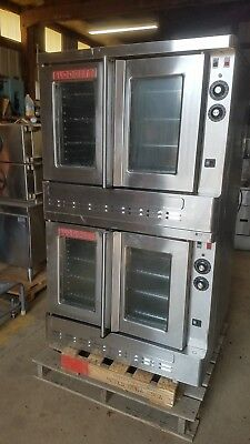 Blodgett SHO-100-  Standard Full Size Double Deck Natural gas Convection Oven