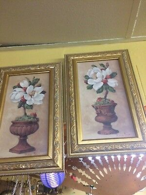 HOME INTERIOR Vintage Topiaries Picture