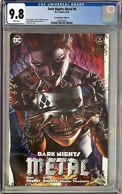 Dark Nights: Metal #6  CGC 9.8 Greg Horn ComicXposure Edition A Variant!