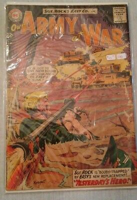 Our Army at War #133 VG Kubert, Grandenetti, Sgt Rock & Easy Company