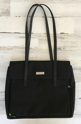 Liz Claiborne First Issue Purse Laptop Messenger Tote Shopper Bag 3fe2d9176387f
