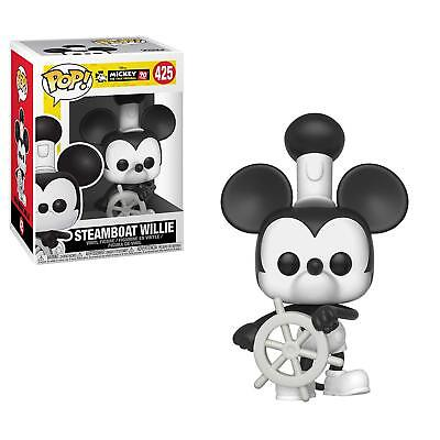 Funko Pop Disney: Mickey Mouse 90Th Steamboat Willie 425 32182