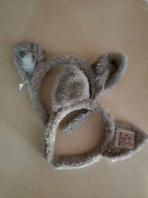 great wolf lodge childrens wolf ears lot of 2 souvenirs costume coyote halloween