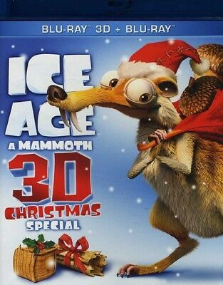 ice age a mammoth christmas special 3d blu ray used very - Ice Age Mammoth Christmas