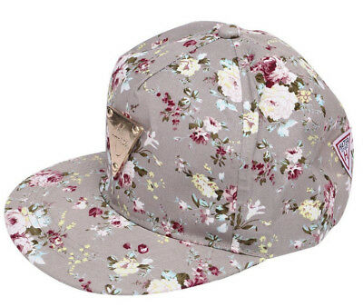 348f26eeb2f HATER Summer Quality Cap Women Floral Baseball Grey Snapback Roses Supreme