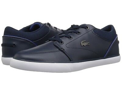 9246cb2db3ed MEN S SHOE LACOSTE Bayliss 318 2 Fashion Sneaker 36CAM0007ND1 NAVY DARK  BLUE NEW -  84.95