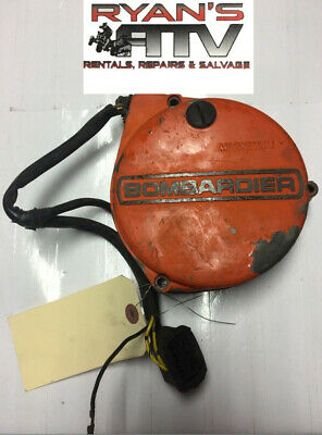 1979 Can-Am Qualifier 370 Bombardier Stator & Stator Cover