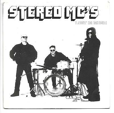 """STEREO MC'S Lost In Music  7"""" Ps, Ultimatum Remix B/W Early One Morning, Brw 198"""