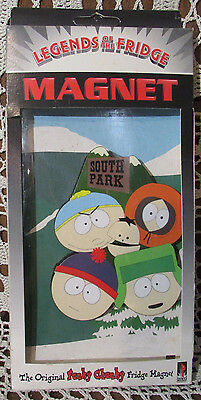 South Park 1997 LEGENDS OF THE FRIDGE MAGNET In Sealed Box Funky Chunky CC/Polar