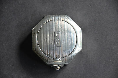 Antique Sterling Compact/Pillbox