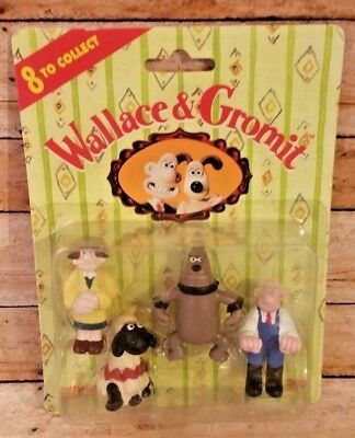 1989 Wallace & Gromit Figures A Close Shave Sheep