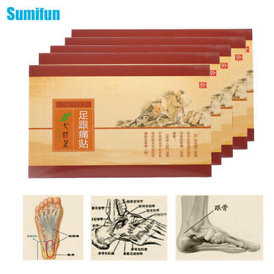 4Box Heel Spur Pain Relief Medical Patch Herbal Calcaneal Spur Plaster Z32404