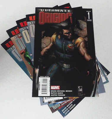 Ultimate Origins #1-5 Complete Excellent Condition Bendis