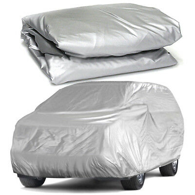 Foldable Snow Wind Dust Sun WaterProof  Resistant UV Outdoor Full Car Cover