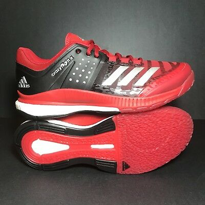 quality design 0c4b3 6baf5 Size 7.5 New Adidas Crazyflight X Womens Volleyball Shoe RARE Red BA9270🔥  Boost