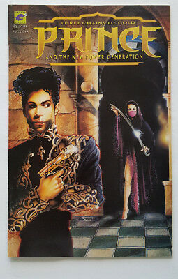 Prince Three Chains of Gold and The New Power Generation #1 in VF/NM Cond. 1994