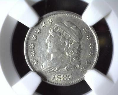 1832 Capped Bust Half Dime NGC AU Details Improperly Cleaned 2041817-043