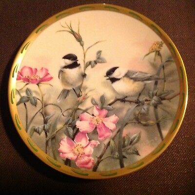 Lenox 1992 Limited Edition Rose Morning By Catherine McClung Fine China Plate