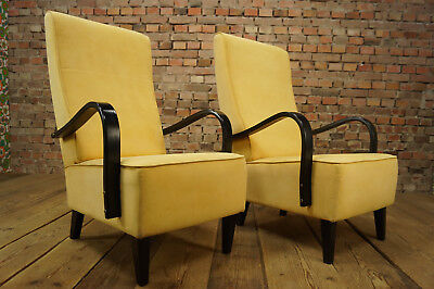 VINTAGE LOUNGE SESSEL CLUBSESSEL HYGGE POLSTERSESSEL EASY CHAIR 50er 1/2